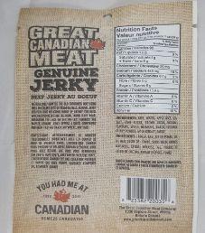 Great Canadian Meat - Original Beef Jerky (Recipe #2)