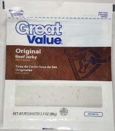 Great Value - Original Beef Jerky (Recipe #1)