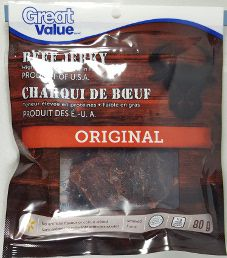 Great Value - Original Beef Jerky (Recipe #2)