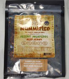 Halal Mummified Jerky - Desert Jalapenos Halal Beef Jerky
