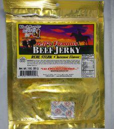 Jeff's Famous Jerky - Black Pepper & Sea Salt Beef Jerky