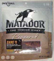 Matador - Peppered Beef Pork Jerky