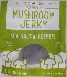 Pan's Mushroom Jerky - Sea Salt & Pepper Mushroom Jerky