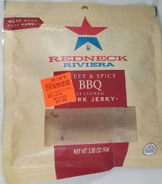 Redneck Riviera - Sweet & Spicy BBQ Pork Jerky