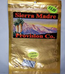 Sierra Madre Provision Co. - Carne Asada Beef Jerky