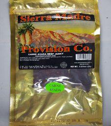 Sierra Madre Provision Co. - Carne Asada Beef Jerky