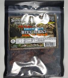 Smokehouse Jerky Co. - Smoky Bar-B Beef Brisket Jerky (Review #2)