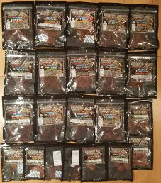 22 Jerky Flavors Submitted