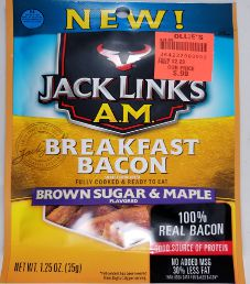 Jack Link's - Brown Sugar & Maple Bacon Jerky