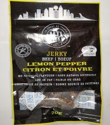 MTL Jerky - Lemon Pepper Beef Jerky