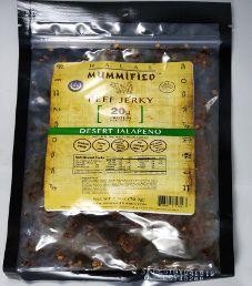 Halal Mummified Jerky - Desert Jalapeno Halal Beef Jerky (Review #2)