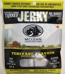 McLean Clean & Lean - Teriyaki Turkey Jerky (Recipe #2)