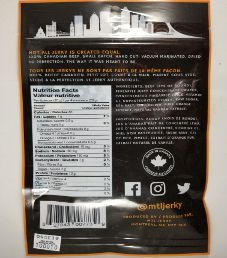 MTL Jerky - Sweet And Spicy Beef Jerky