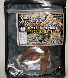 Smokehouse Jerky Co. - Jalapeno Flavor Bacon Jerky