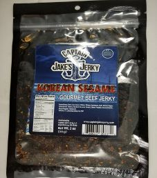 Captain Jake's Jerky - Korean Sesame Beef Jerky (Recipe #2)