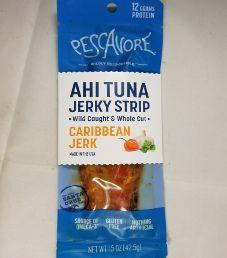 Pescavore - Caribbean Jerk Ahi Tuna Jerky