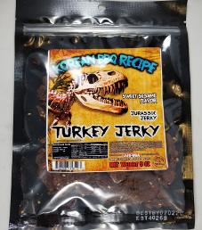 Jurassic Jerky - Korean BBQ Recipe Turkey Jerky