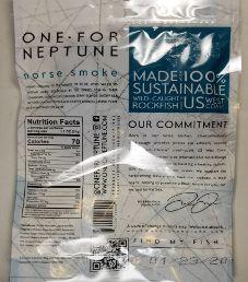OneForNeptune - Smoked Sea Salt & Juniper White Fish Jerky
