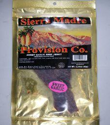 Sierra Madre Provision Co. - Sweet Garlic Beef Jerky