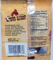 Cattleman's Cut - Peppered Beef Jerky
