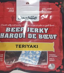 Compliments - Teriyaki Beef Jerky