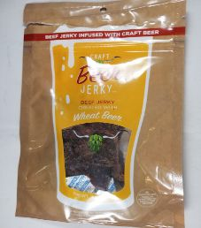 Craft Beer Jerky - Wheat Beer Beef Jerky