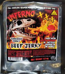 Jurassic Jerky - Inferno-XXX Beef Jerky