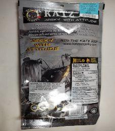 Katz Azz Jerky - Ghost Pepper Pork Beef Jerky