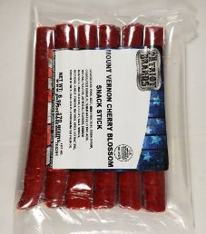 The Patriot Brands Jerky - Mount Vernon Cherry Blossom Pork Beef Stick