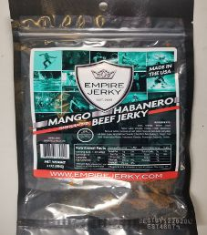 Empire Jerky - Mango Habanero Beef Jerky