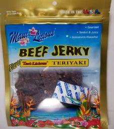 Maui~Licious - Teriyaki Beef Jerky (Review #2)