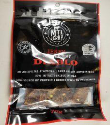 MTL Jerky - Diablo Beef Jerky