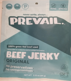 PREVAIL Jerky - Original 100% Grass-Fed Beef Jerky