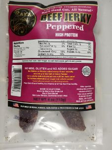 Ray's Own Brand - Peppered Beef Jerky