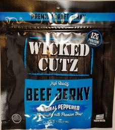 Wicked Cutz - Original Peppered Beef Jerky