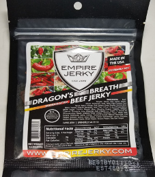 Empire Jerky - Dragon's Breath Beef Jerky