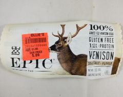 EPIC - Sea Salt & Pepper Venison Bar
