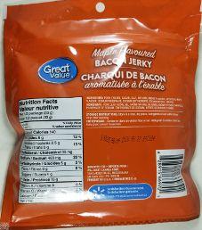 Great Value - Maple Bacon Jerky