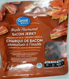 Great Value - Maple Bacon Jerky