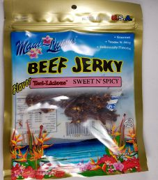 Maui~Licious - Sweet N' Spicy Beef Jerky (Review #2)
