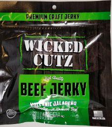 Wicked Cutz - Volcanic Jalapeno Beef Jerky