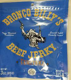 Bronco Billy's Beef Jerky - Teriyaki Beef Jerky