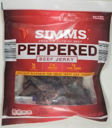 Simms - Peppered Beef Jerky