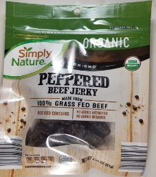 Simply Nature - Peppered Organic Beef Jerky