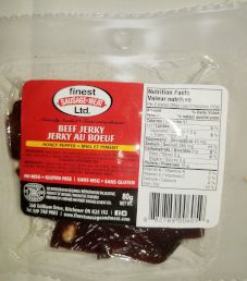 Finest Sausage and Meats - Honey Pepper Beef Jerky
