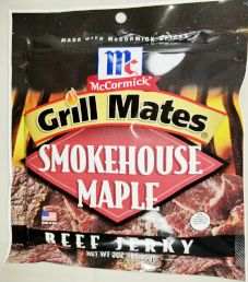 Grill Mates - Smokehouse Maple Beef Jerky