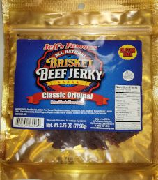 Jeff's Famous Jerky - Teriyaki Beef Jerky