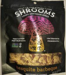 Shrooms - Mesquite Barbecue Mushroom Crisps
