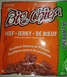 Big Chief Meat Snacks - Jalapeno Beef Jerky