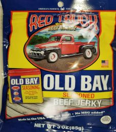 Red Truck Beef Jerky - Old Bay Beef Jerky